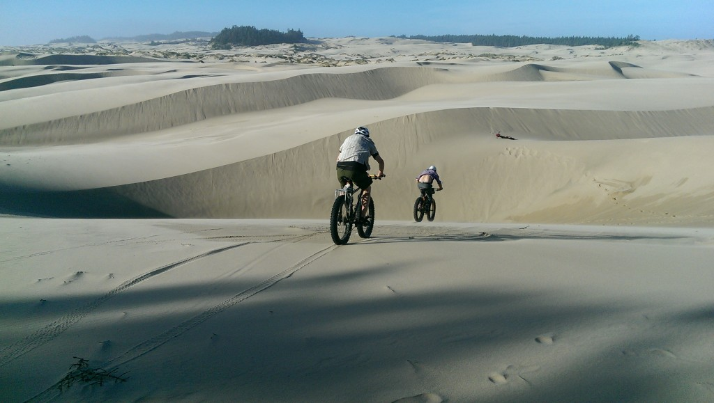 fat biking oregon dunes