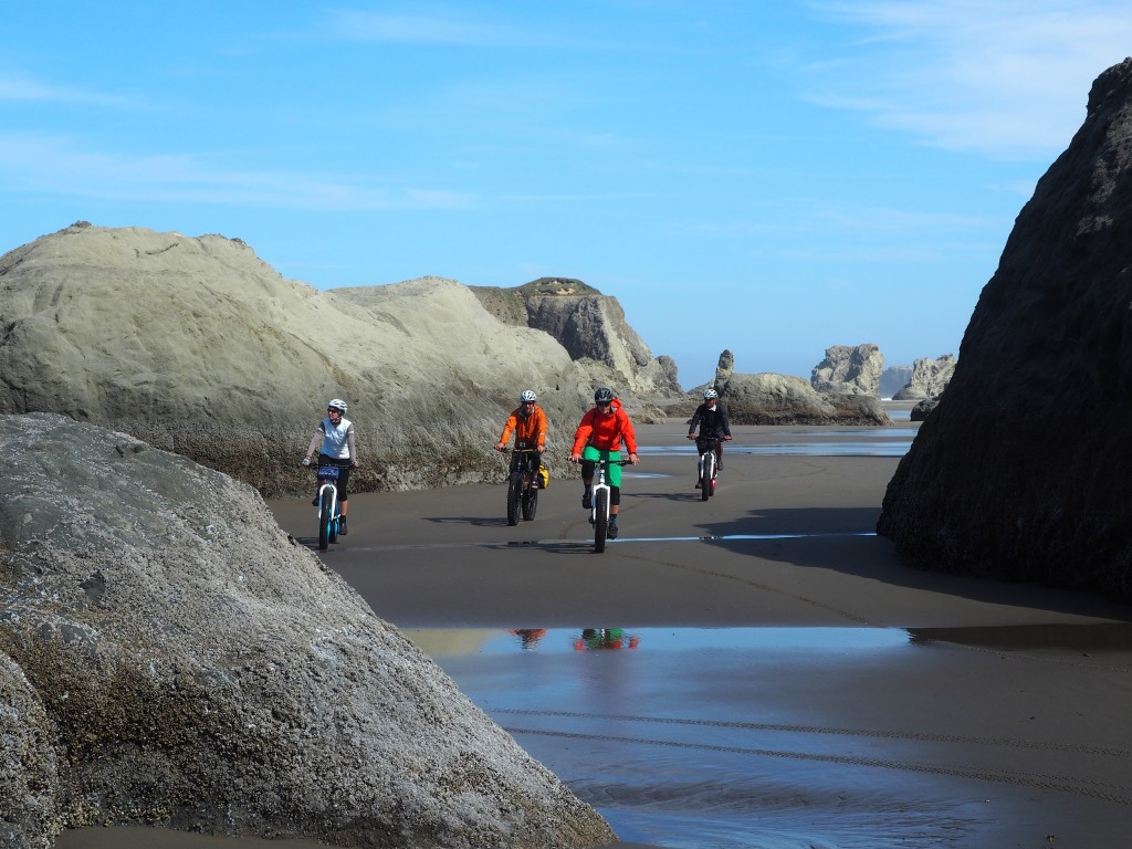 biking the oregon coast