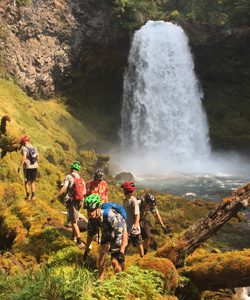 waterfall-hiking